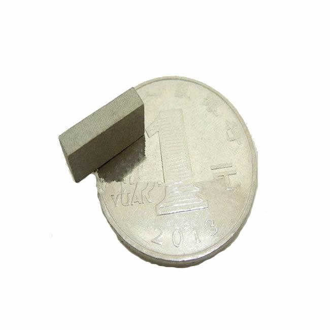 Small SmCo Permanent Magnet Block 10x5x2mm Grade YXG-24H