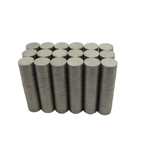 Thin Thickness Sintered Samarium Disk Magnets 10x1mm