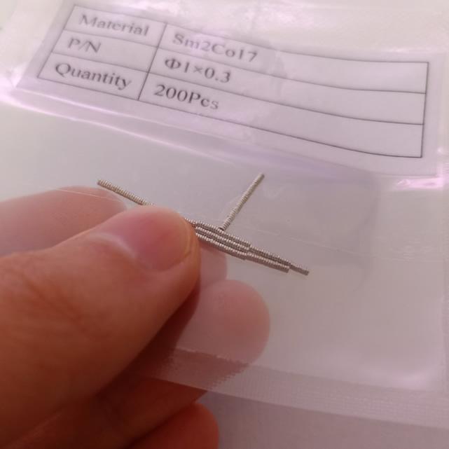 Tiny Small Size Samarium Cobalt Magnets Sm2Co17 Disc D1X0.3mm