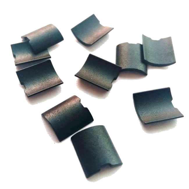 Aeromodel Motor Bonded NdFeB Magnet Tile Arcs Mixed with Epoxy Resin
