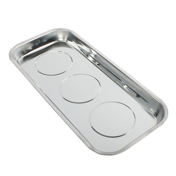 Extended Rectangular Triple Magnetic Parts Tray