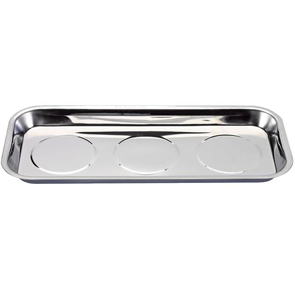 Multipurpose Use Magnetic Tool Dish Tray Triple Base Holder