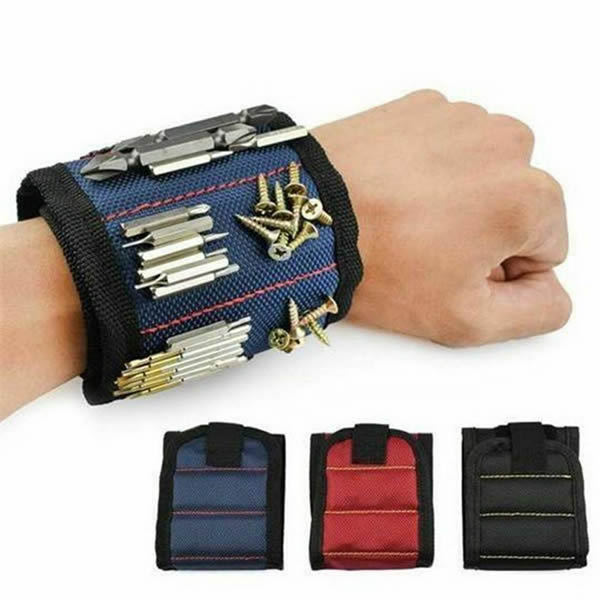 Portable Electrician Tool Bag Magnet Wrist Band