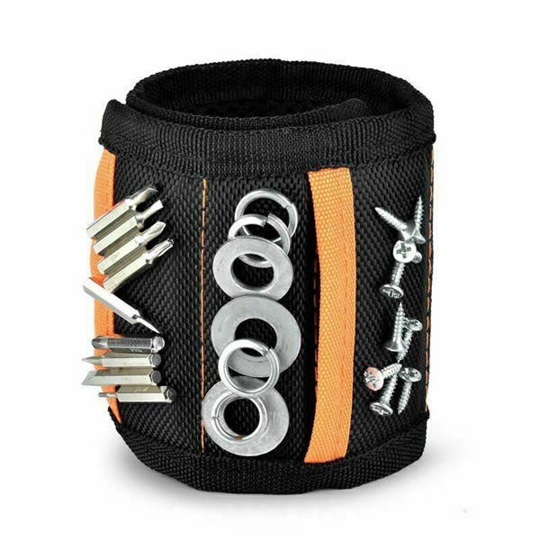 Portable Magnetic Tool Bag Wristbands