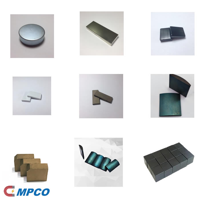 Sintered NdFeB Magnet Coating Type