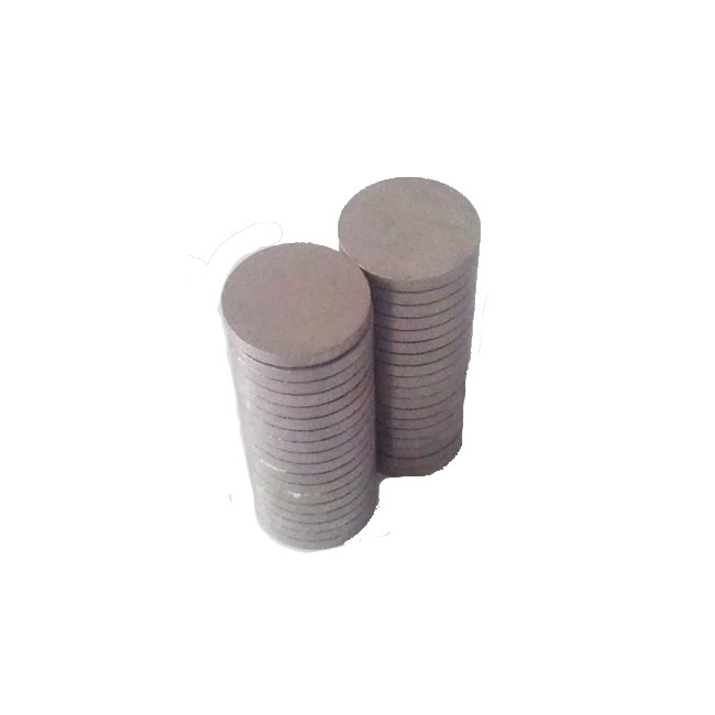 Thin Samarium Cobalt Disk Magnets for Transmission Devices Sensors D20X2.5mm