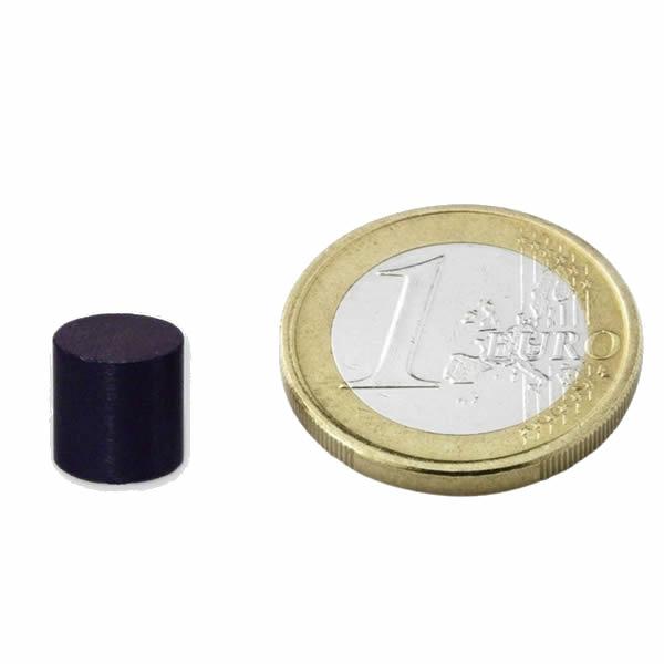 Disc Magnet Ferrite Ø10x10mm Y35
