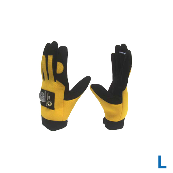 Large Mechanic Impact Magnetic Finger Glove
