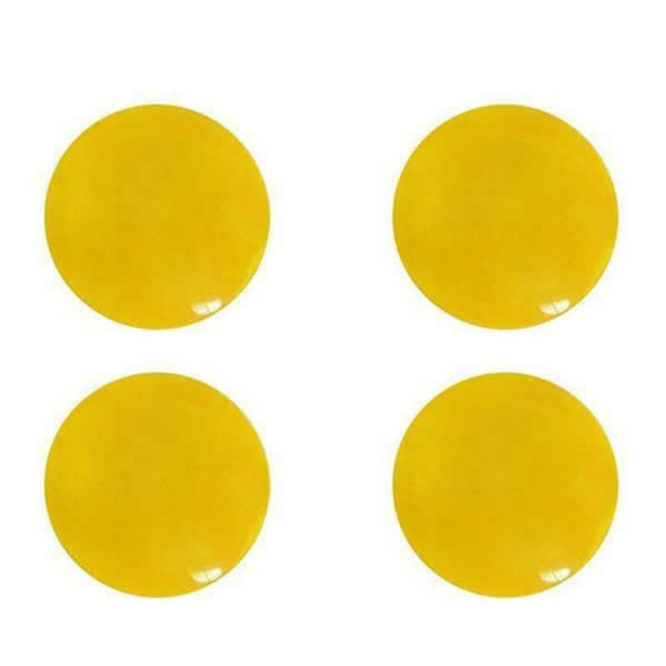 Marathon Race Number Magnet Yellow Color