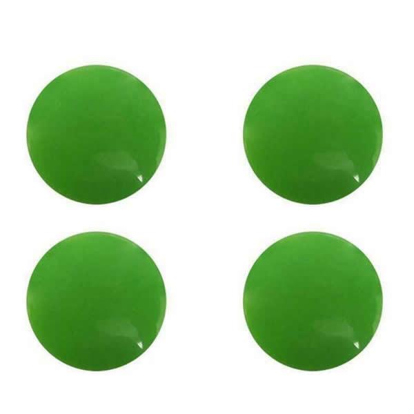 Marathon Race Number Magnetic Bib Attachers Green