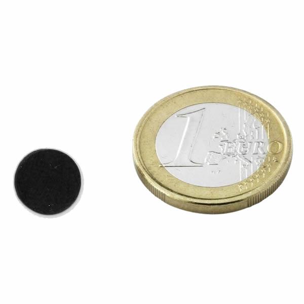 Round Circle Disc Magnet Ceramic Ferrite Ø10x3mm Y30