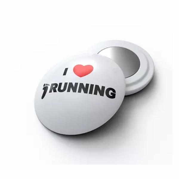 White Running Marathon Race Bib Number Magnets
