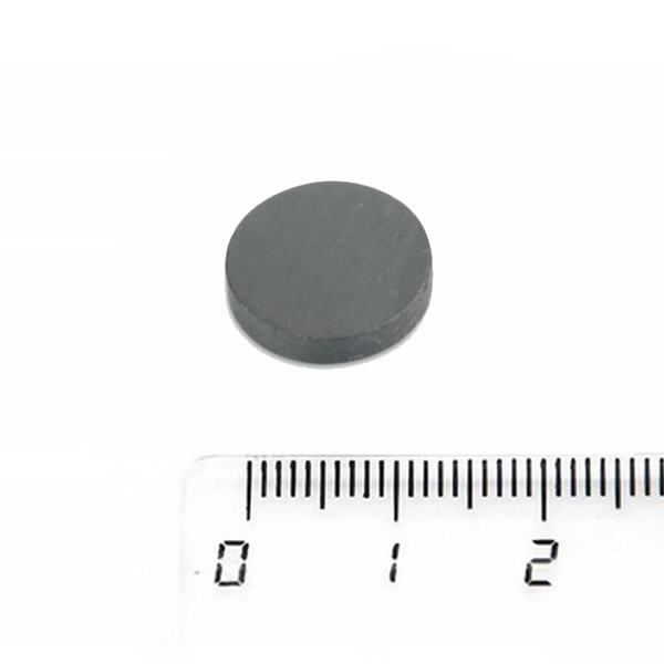 Circle Circular Hard Sintered Ferrite Magnet 15 x 3mm Y30