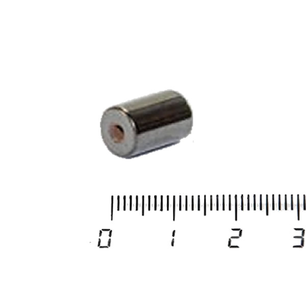 Ferrite Magnetic Bead Cylinder 5mm x 8mm w 2mm Hole