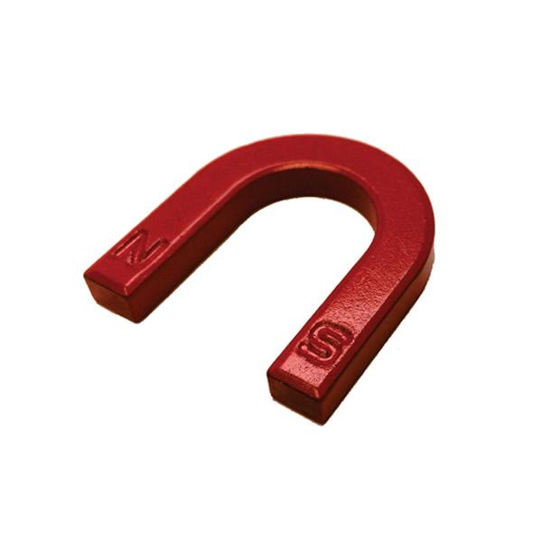 Horseshoe U-Shape Strontium Ferrite Permanent Magnet Y30 Red