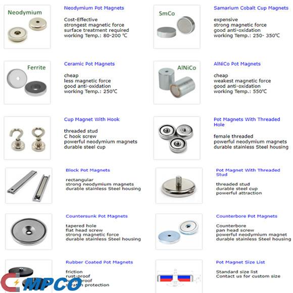 Pot Magnet – Custom 100% Powerful Cup Magnet