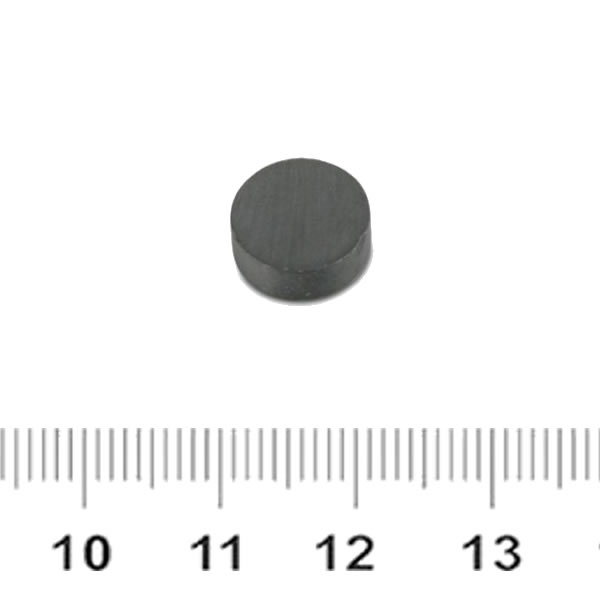 Y33 Hard Ferrite Anisotropic Barium Disk Magnet Ø10x4mm