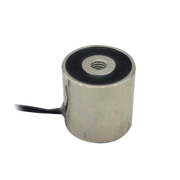 100N DC 12V Circular Mini Solenoid Electromagnet 25-25mm