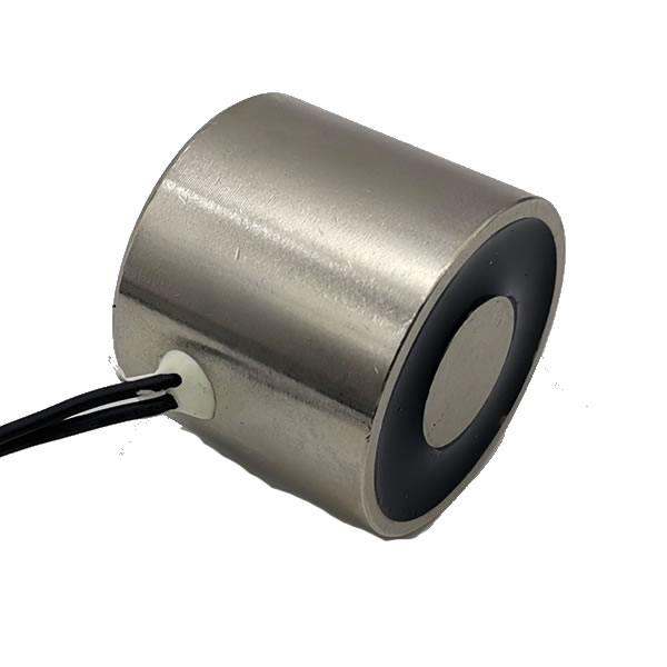 12V DC 30kgs Electrical Holding Magnet Round Solenoid 3530mm