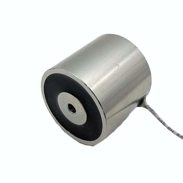 24V DC 50Kg Electric Lock Solenoid Circular Electromagnet Solenoid 4542mm