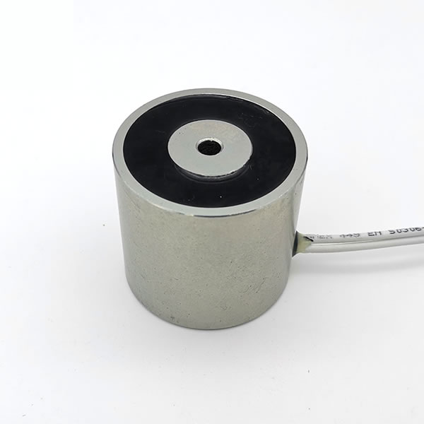 50Kgs 110Lbs Force Dc 12v Suction Circular Holding Solenoid Electromagnet 4542mm
