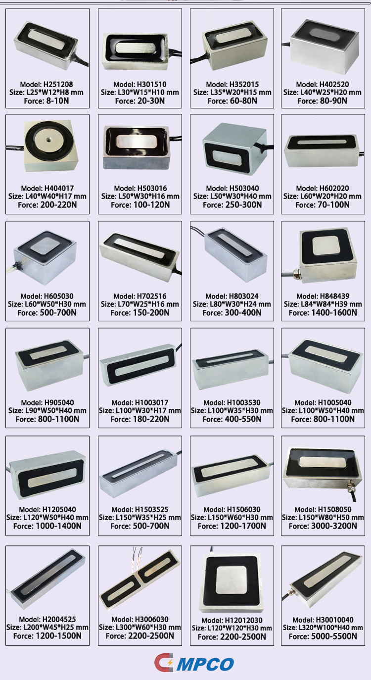Rectangular, Square & Block Electromagnets