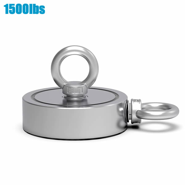 1500lbs Two Side Round Retrieving Salvage Magnet