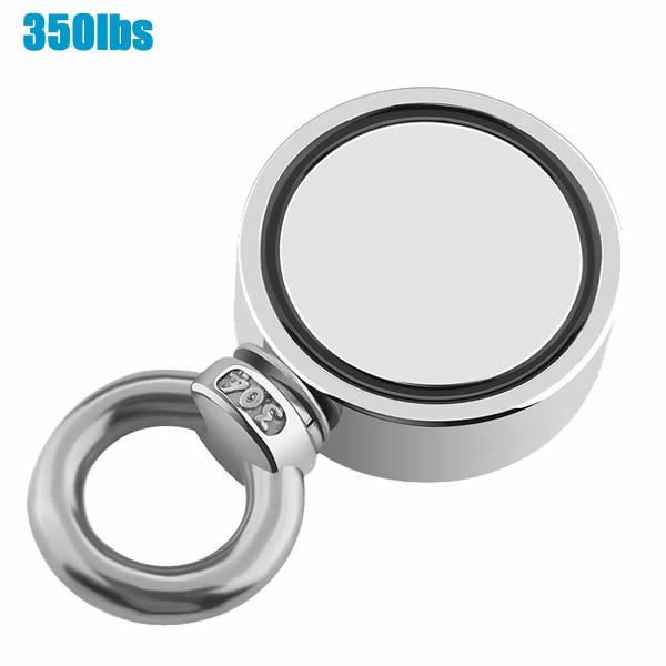 350lbs One Side Detecting Permant Neodymium Beginner Magnet