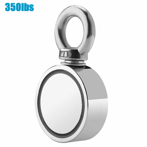 350lbs One Side Disc Treasure Searching Magnet