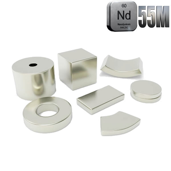 Custom Permanent N55M Magnets