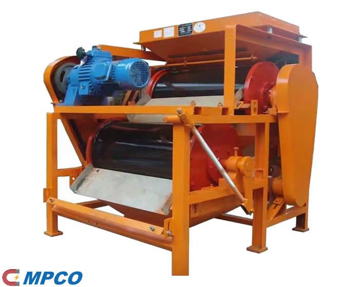 Low Intensity Dry Drum Magnetic Separator