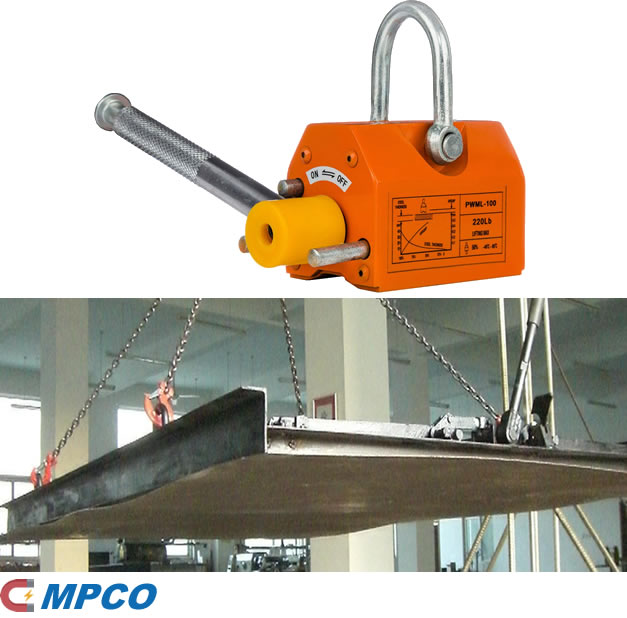Magnetic Lifter for Large Thin Sheet Metal