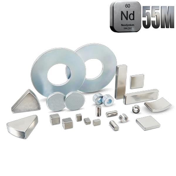 N55M Rare Earth NdFeB High Grade Magnets